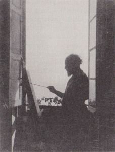 matisse-painting-at-his-third-floor-studio-window-place-charles-felix